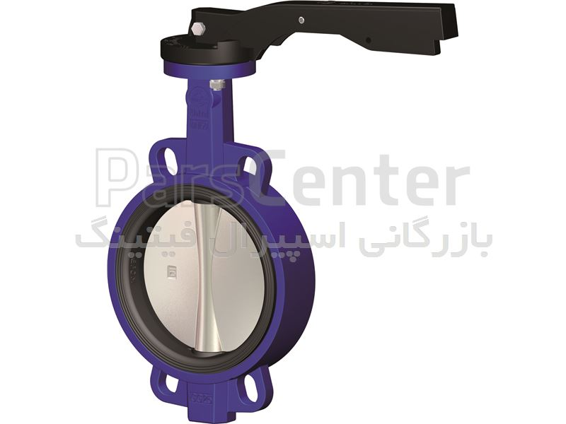 شیر پروانه ای باترفلای ولو  ASTM A182 F11