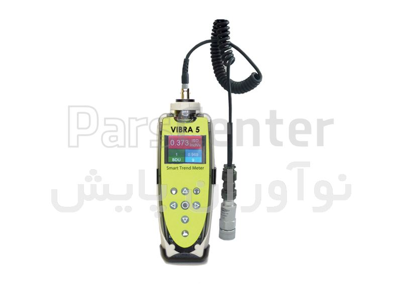 دستگاه آنالایزر ارتعاشات VIBRA 5 Simple Vibration analyzer