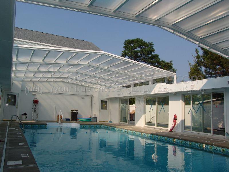 pool enclosures Animated models  roof- استخر شنای مدل سقف متحرک