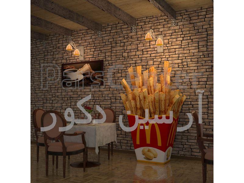 طراحی و اجرای دکوراسیون رستوران و فست فود