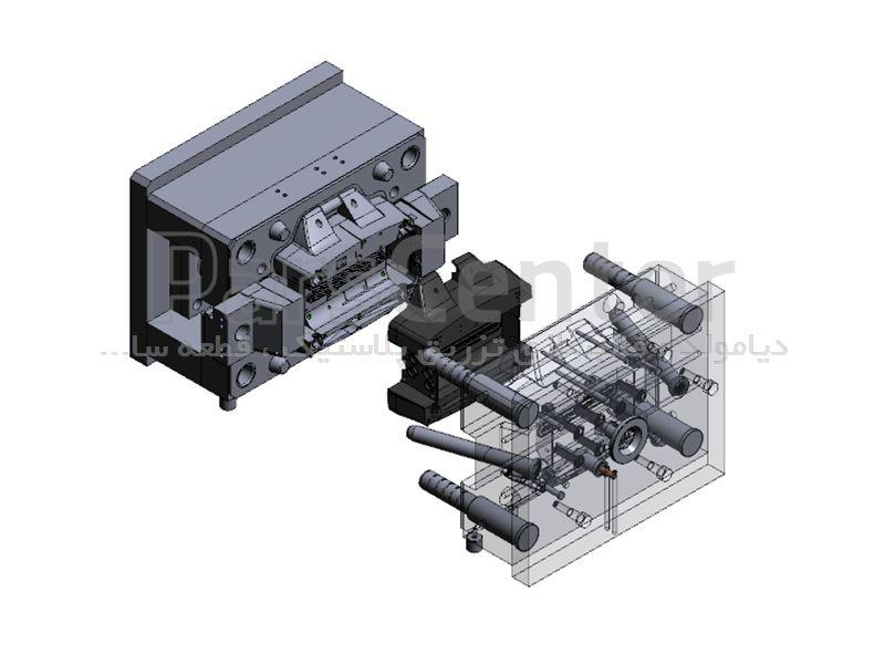 طراحی قالبهای تزریق پلاستیک