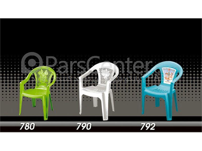 گروه صندلیهای پلاستیکی مهد کودکی