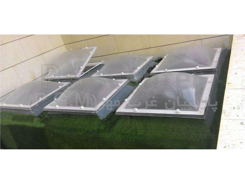 کاربرد ورق های پلی کربنات در استفاده از نورگیر سازه ها