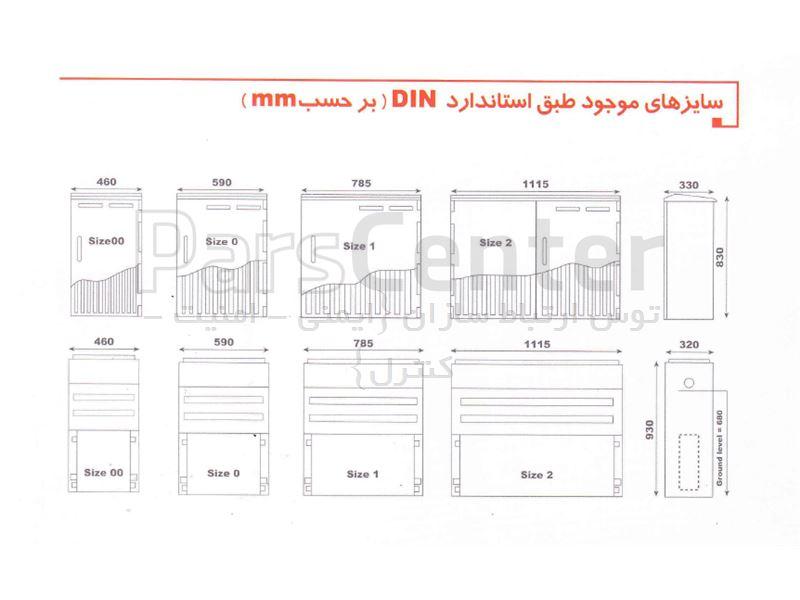 مشخصات کلی تابلو های برق کامپوزیتی با قابلیت نصب بر روی فونداسیون کامپوزیتی