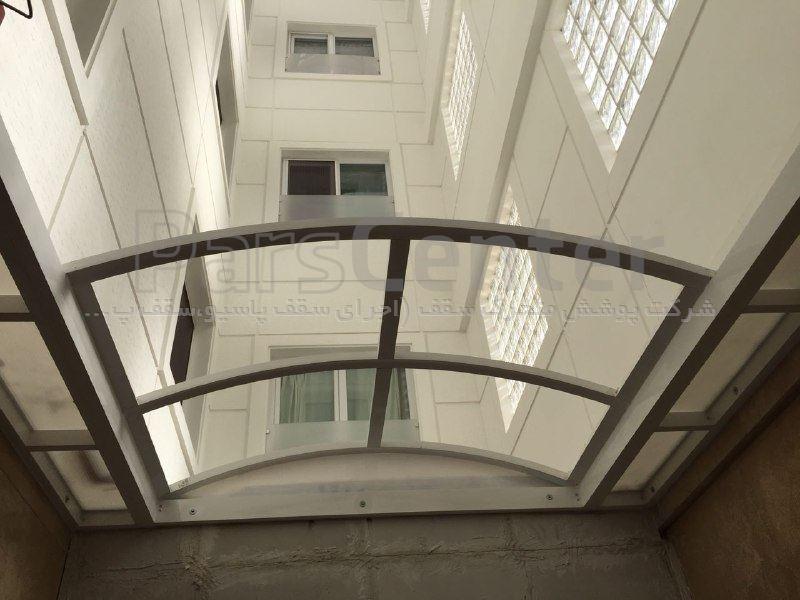سقف پاسیو  متحرک مدل FDA(محل نصب قیطریه)