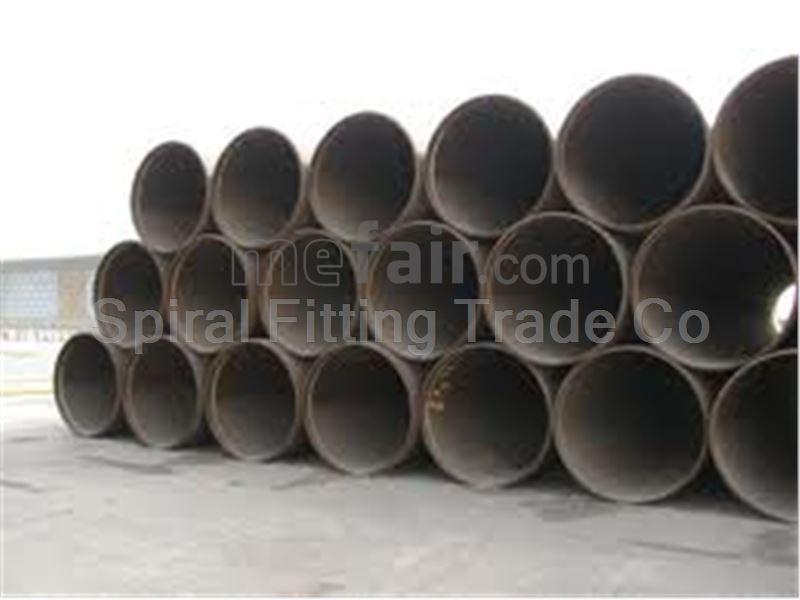 Spiral Fitting Large Size Stainless Steel pipes