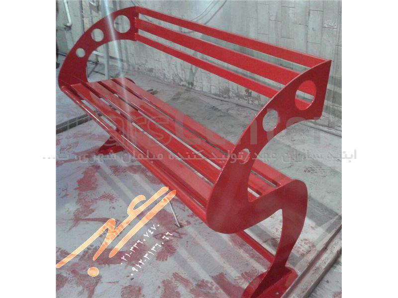 نیمکت فلزی پایه cnc