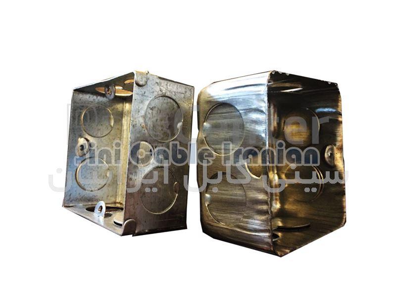 قوطی کلید پریز فلزی (گالوانیزه ، چدن)