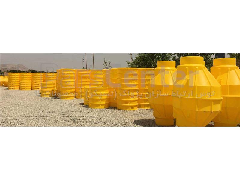 منهول پلی اتیلن پیش ساخته قطر 1000 میلیمتر و ارتفاع 170 سانتیمتر