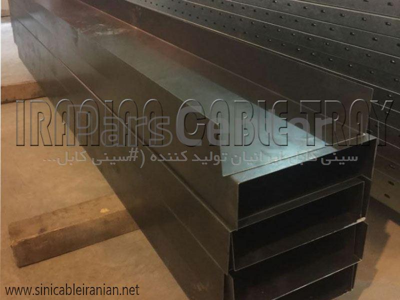 سینی کابل لبه 10 سانتیمتر(10cm)(Cable tray)