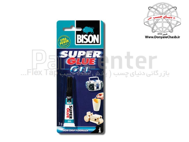 چسب قطره ای بایسون BISON Super Glue Liquid هلند
