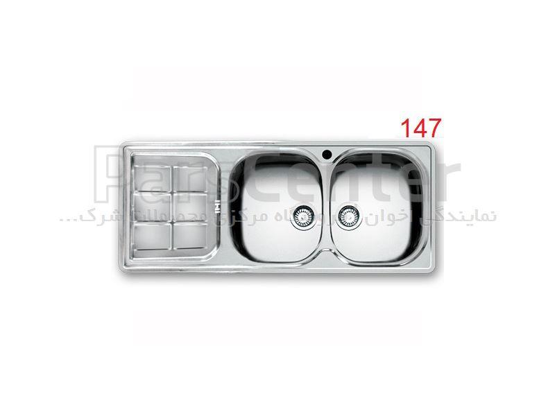 سینک توکار  اخوان مدل 147