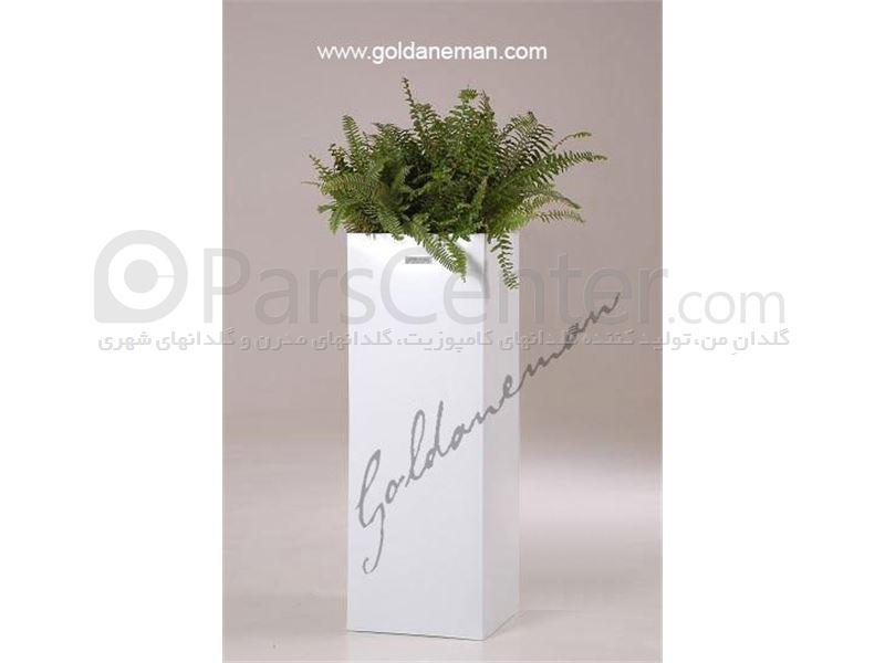 گلدان فایبرگلاس مدرن/ کد 2-Ep6