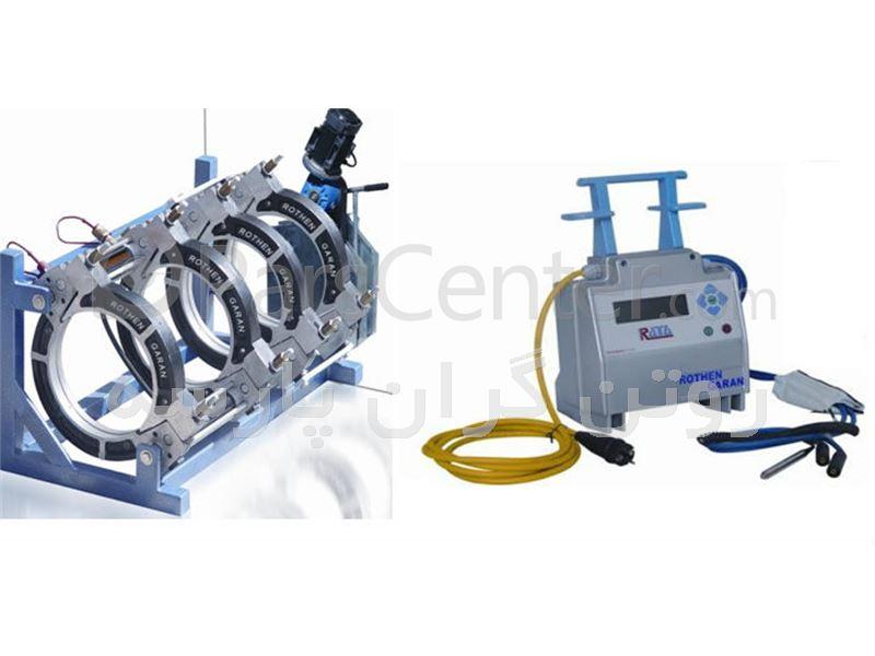 دستگاه جوش پلی اتیلن مدل  فاضلابی D50_R160
