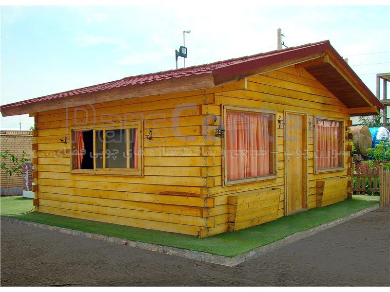 طراحی و ساخت کلبه ی چوبی
