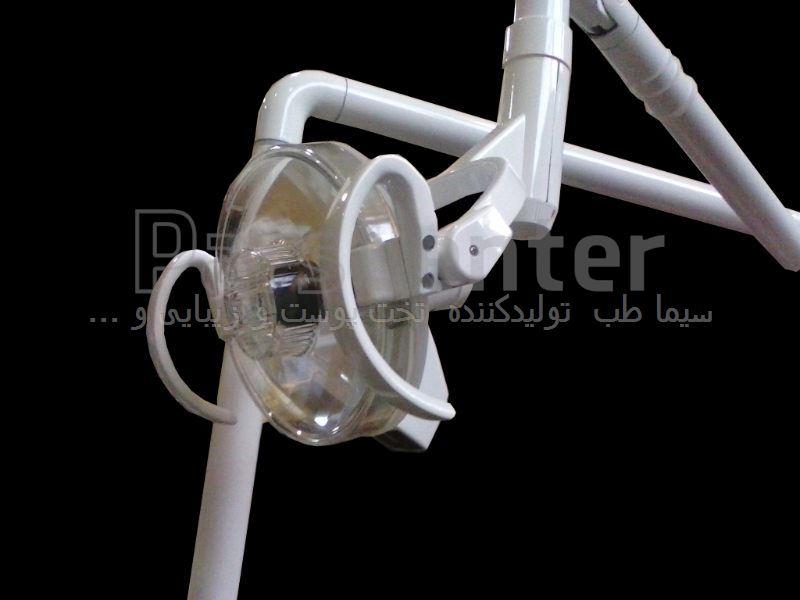 چراغ جراحی سه  شعله هالوژن مدل HE3