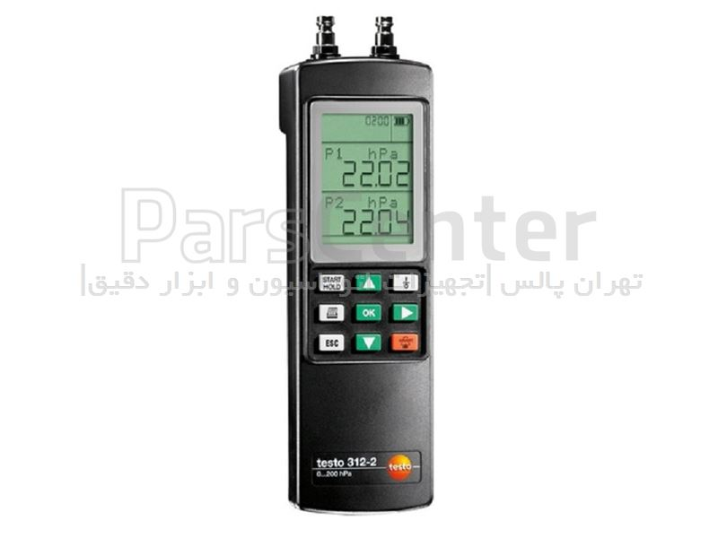 دستگاه اندازه گیری فشار ذرات ریز TESTO 312-2