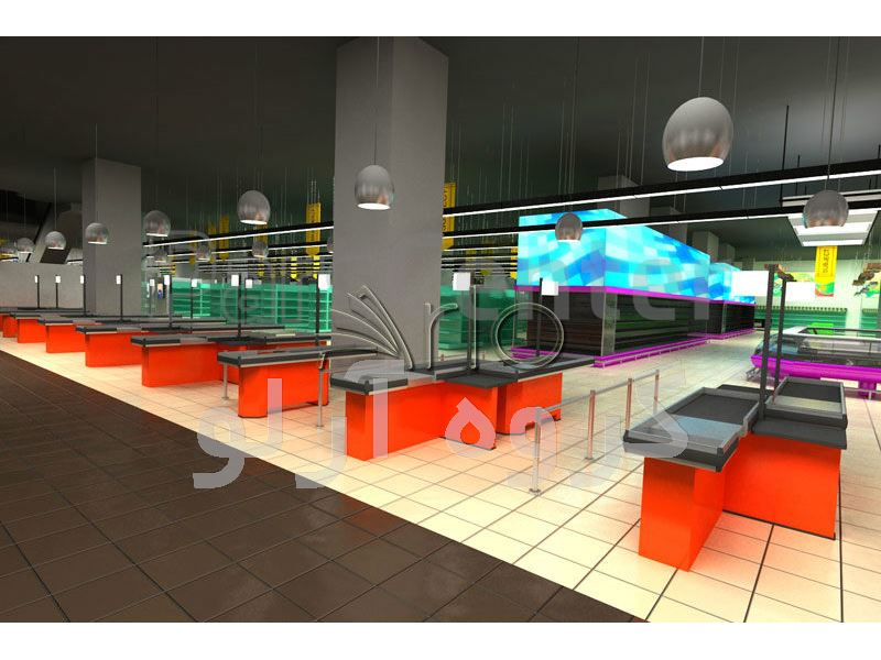 طراحی دوبعدی و سه بعدی هایپر مارکت و سوپر مارکت02