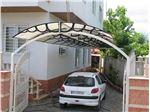 پوشش سقف پارکینگ با ورق پلی کربنات PS Pu3