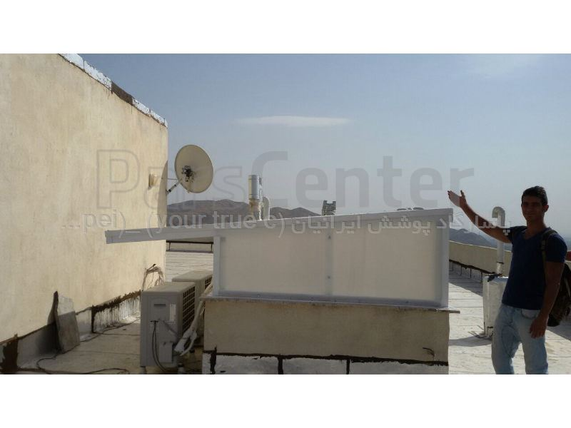 Building skylight _ نورگیر سقف منزل مسکونی - کرج - عظیمیه