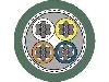 کابل شبکه لپ کیبل اترلاین CAT5  مدل: 2170894