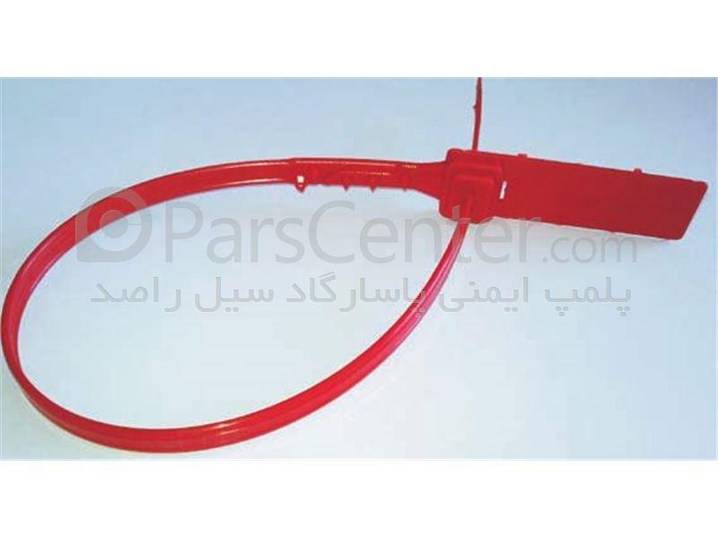 پلمپ پلاستیکی با قفل فلزی و تسمه پهن استاندارد لاشه های کشتاری