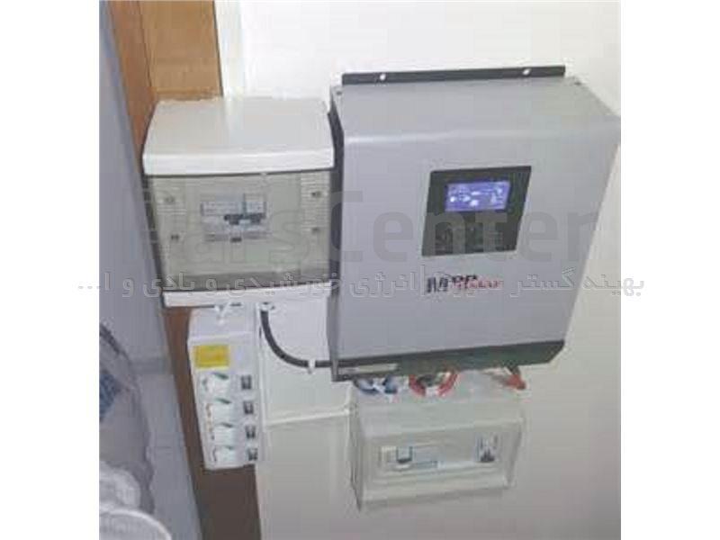 اینورتر شارژرخورشیدی تمام سینوسی 4 کیلوولت آمپر هیبرید 48 ولت با شارژر PWM