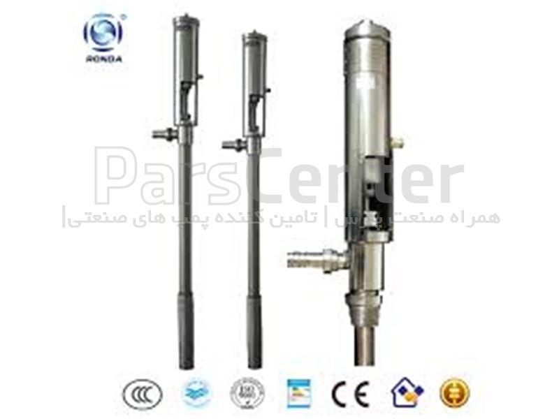 پمپ تخلیه بشکه اسید سولفوریک Duram pump