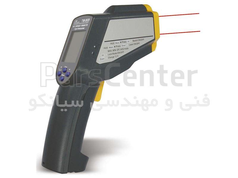 ترمومتر لیزری و تماسی ارزان قیمت لوترون مدل LUTRON TM969