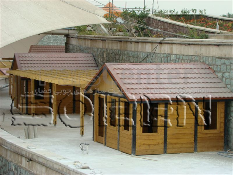 پروژه چوبی شهرگل عباس آباد