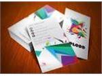 طراحی و چاپ انواع کارت ویزیت( سلفون، سوسماری، کتان)