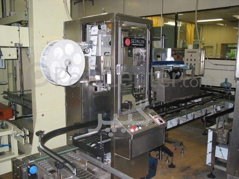 ماشین آلات تولید و بسته بندی آب معدنی، نوشابه و ماءالشعیر