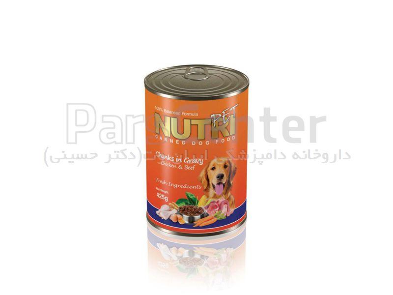 کنسرو گوشت مخصوص سگ 425گرمی