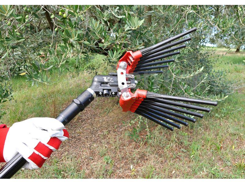 دستگاه برداشت زیتون-زیتون چین پنوماتیک بادیLISAM ITALY مدلV7 TURBO