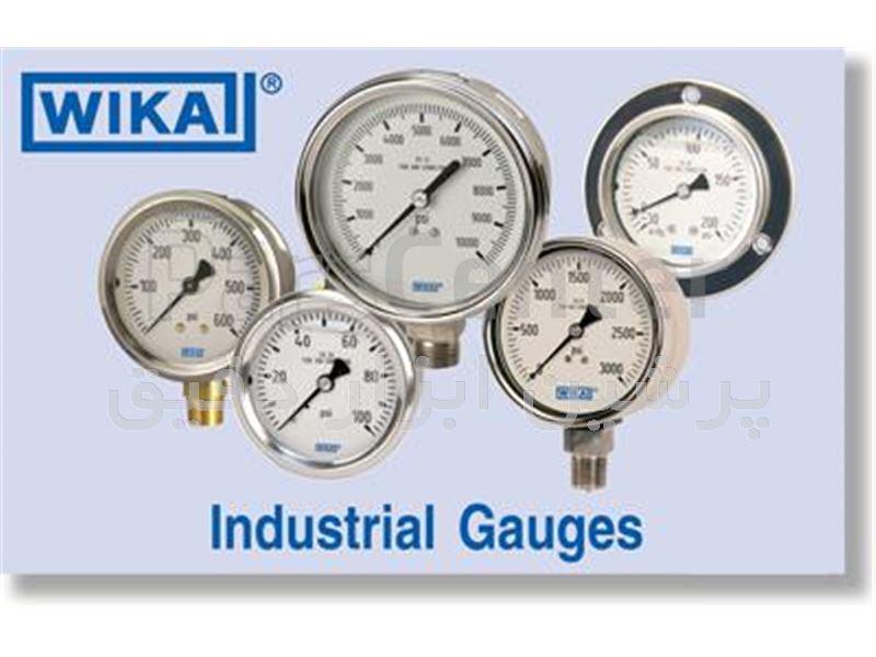 گیج های فشار ویکا Pressure gauges WIKA
