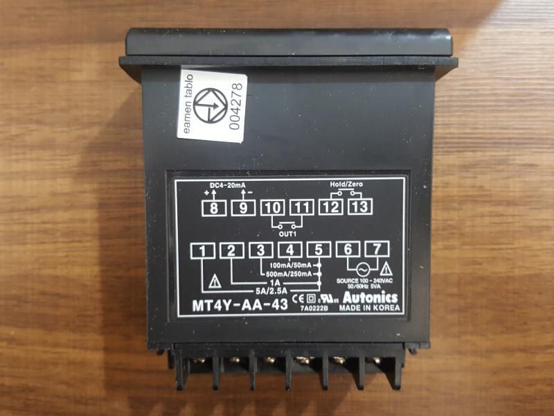 پنل مترهای دیجیتال AUTONICS سری MT4Y