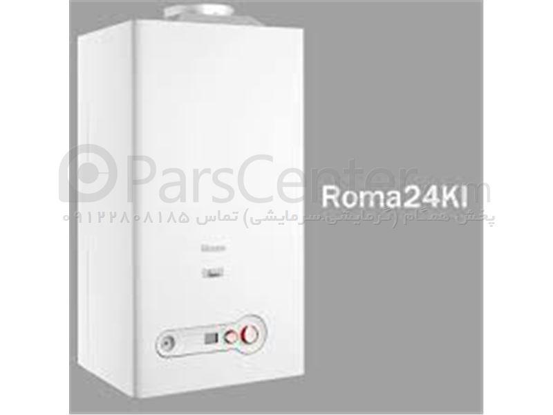 پکیج بوتان فن دار دو مبدل مدل ROMA28KIS