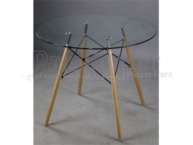 میز مدرن قطر 80 کد 101736