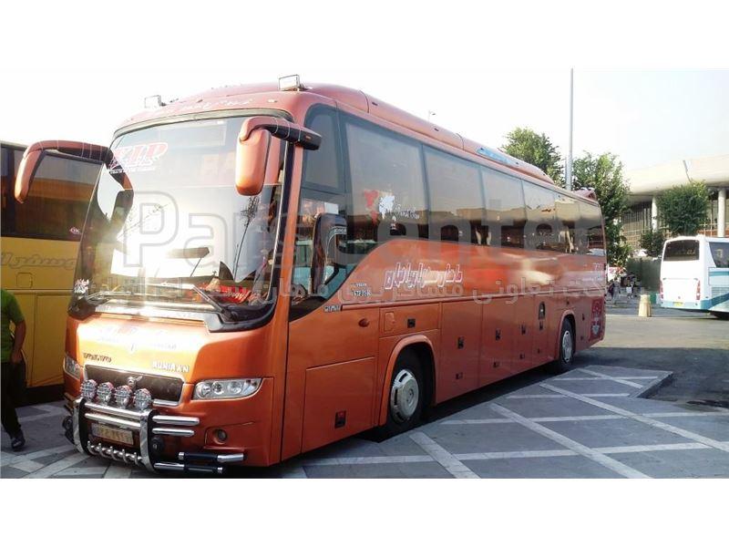 رزرو بلیط اتوبوس شیراز - تهران (اتوبوس vip ) ماهان سفر ایرانیان
