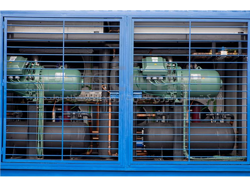 دستگاه آبساز 10000 لیتر روزانه مخصوص مناطق خشک (سبز انرژی)