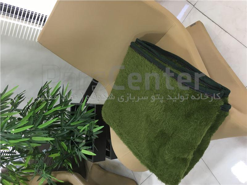 پتو سربازی مینک سبز نیروی انتظامی ۲/۳ کیلو گرمی شکوفه