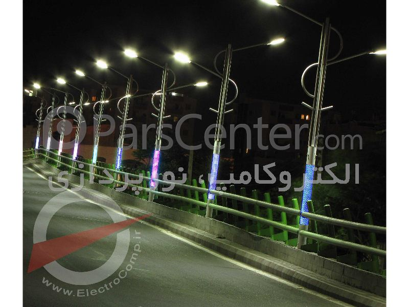 چراغ خیابانی 72 وات LED