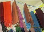 شال نخی مریمی  و شال براق ضخیم  اعلاء در رنگبندی