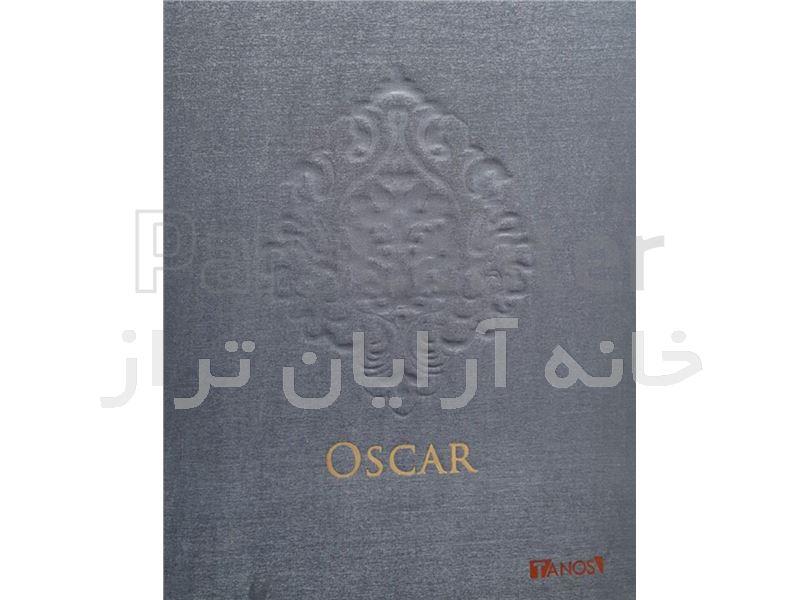 کاغذ دیواری مخملی  کد 141206 OSCAR