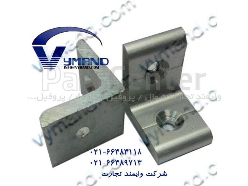 نبشی ساده آلومینیومی 30x30