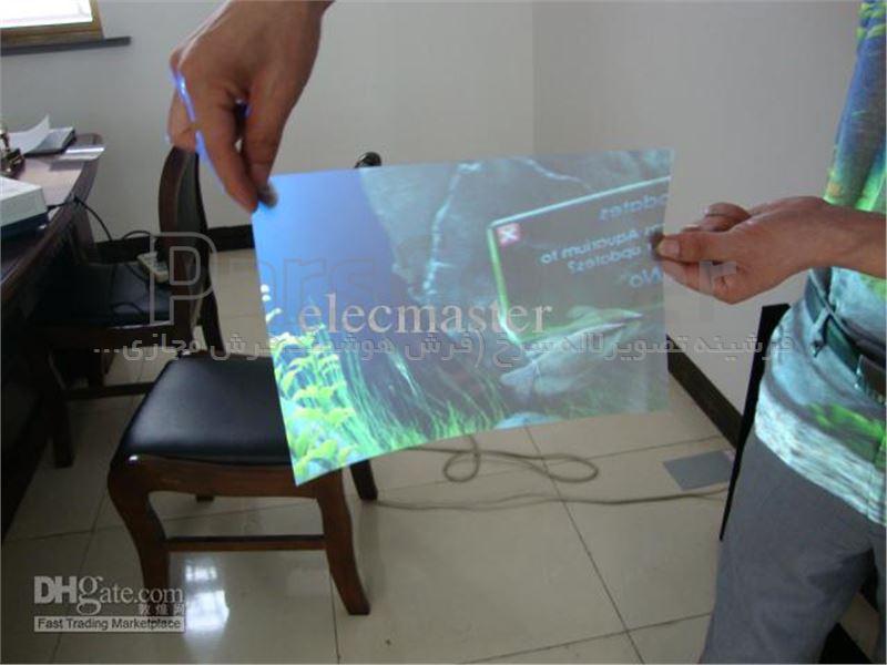 تبدیل شیشه به مانیتور و تلویزیون