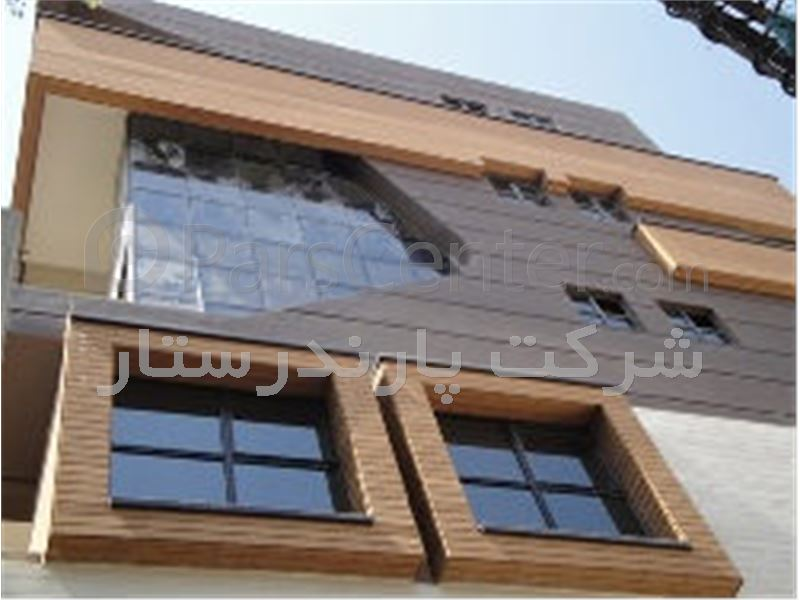 چوب طبیعی با تکنولوژی ترمووود محصول فنلاند برای نمای خارجی ساختمان و کف محوطه باز با 35 سال گارانتی