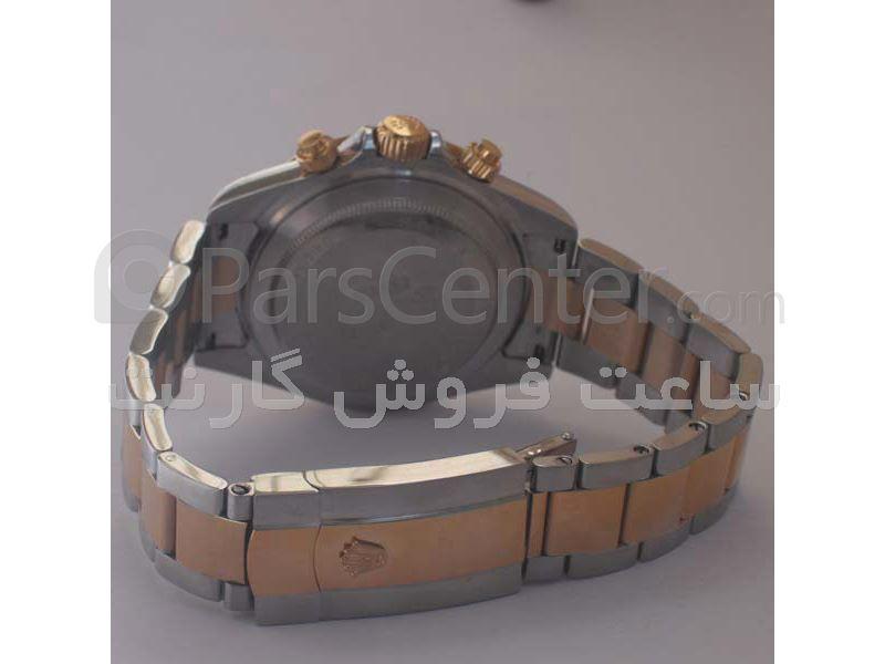 ساعت رولکس مدل  DAYTONA- شیشه ضد خش -بصفحه خاکستری- سه موتوره
