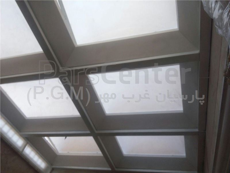 سقف پاسیو حبابی ( دهکده المپیک )