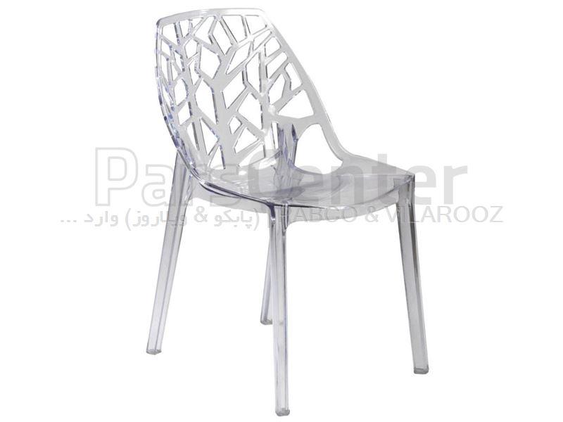 صندلی پلی کربنات لوکاس